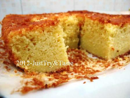 Cassava Cake - Si Yummy dari Ketela Pohon