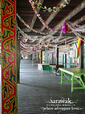 Another view of the common area of Rumah Nyuka