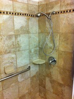 : Bathroom Remodel With Custom Shower Stall in Ridgecrest, California