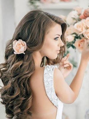 Волнистые прически на свадьбу