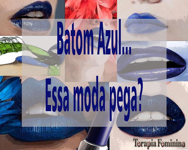 Batom Azul