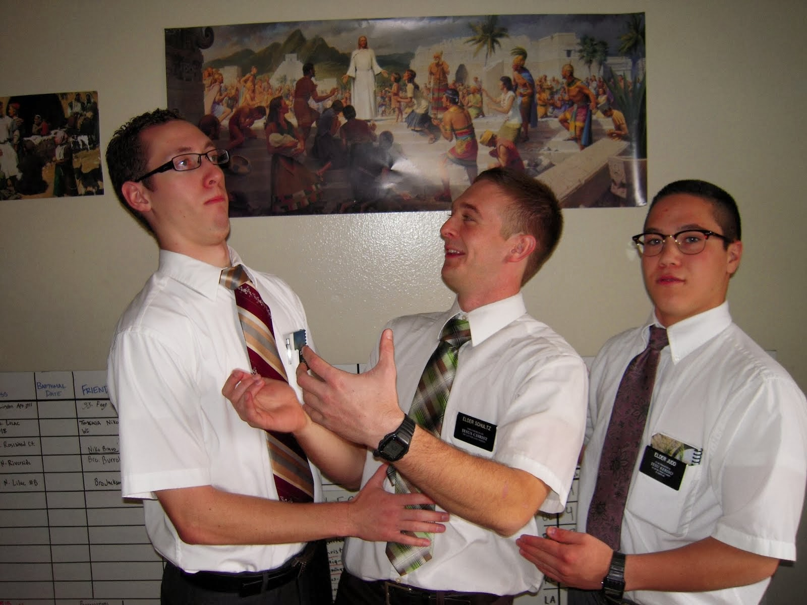 Good-bye Elder Schultz!