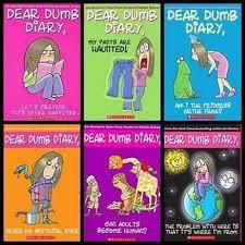 Lot 9 Dear Dumb Diary Paperback Books--1-5,10, Year 2--1,4,5