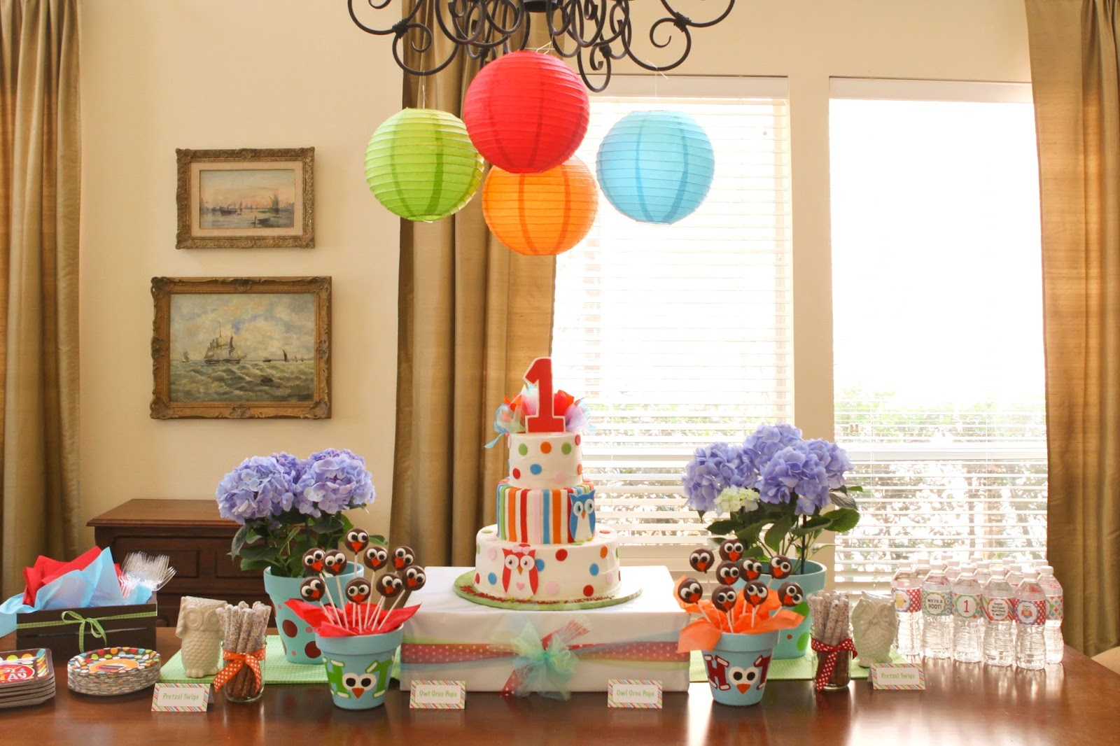 Just a little party twin 1st birthday unisex boy for 1st bday decoration ideas
