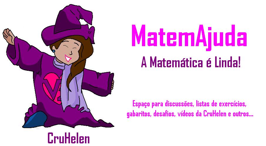 """MatemAjuda """"A matemática é linda"""""""