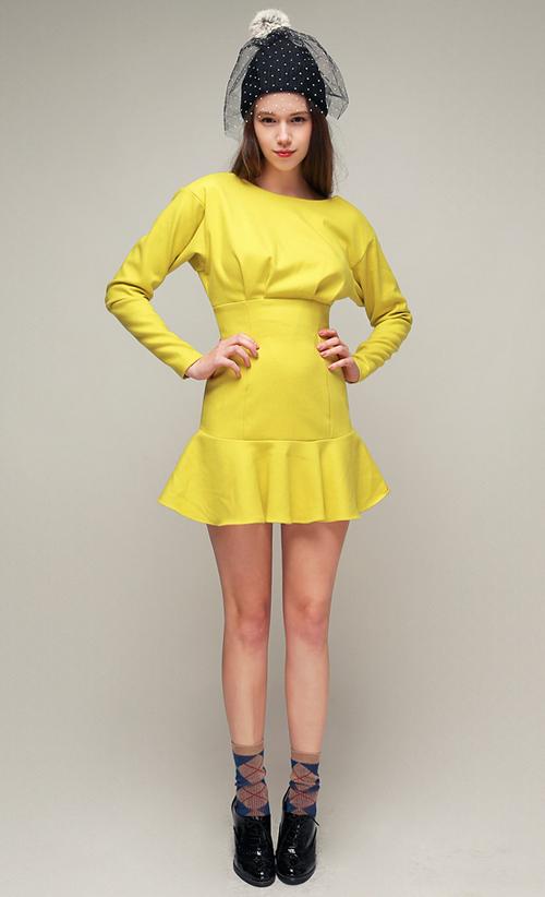 Glam Pintuck Dress