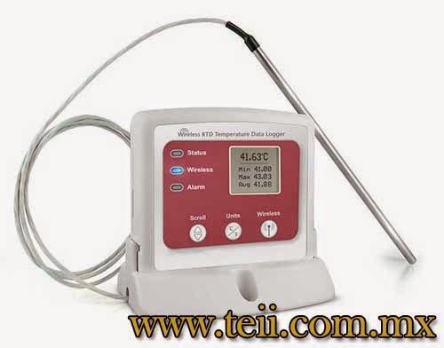 registrador inalambrico de temperatura