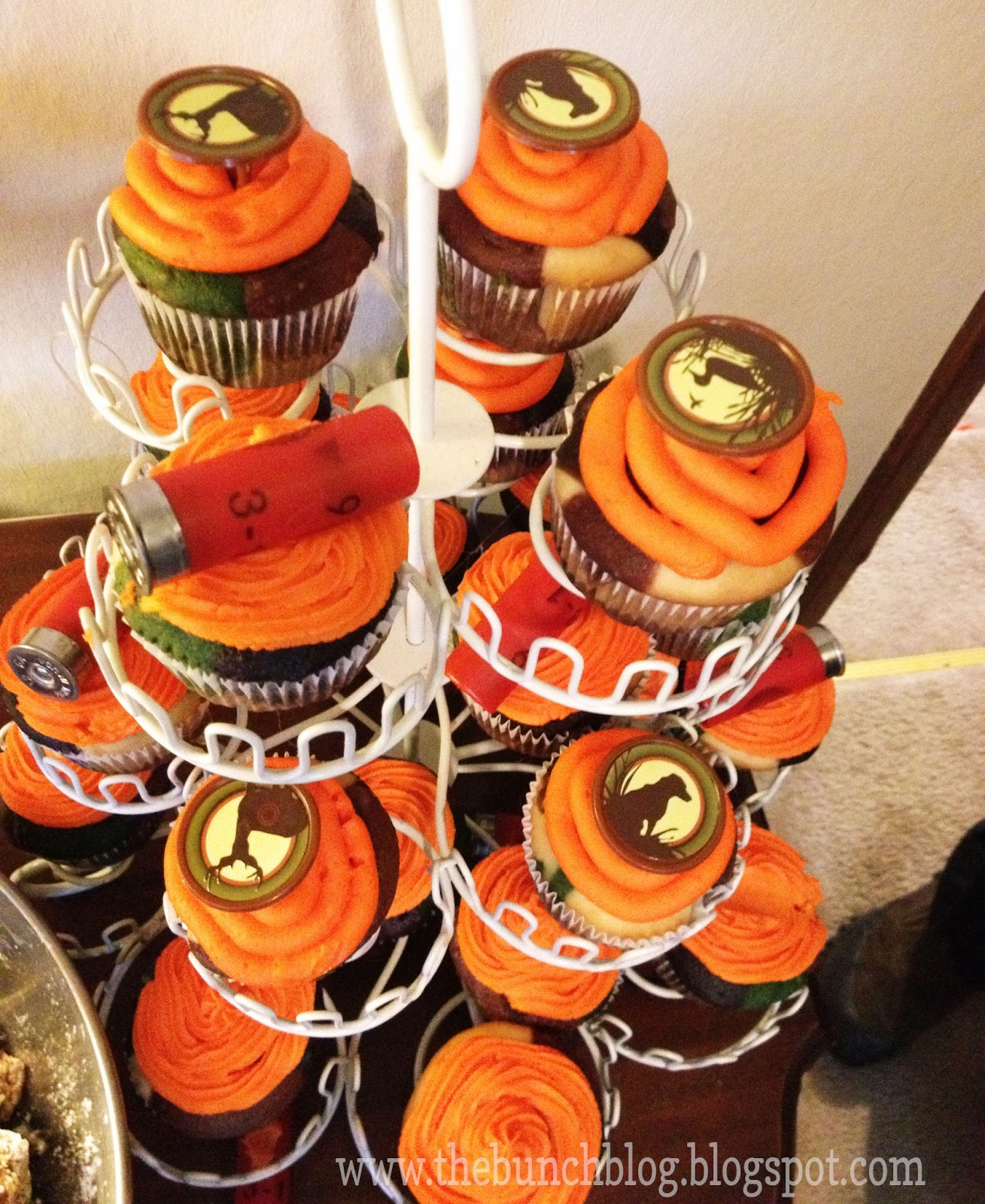 Baby shower cakes baby shower cupcake cake ideas boy - The Bunch Handcrafted Stylishly Hunting Themed Birthday