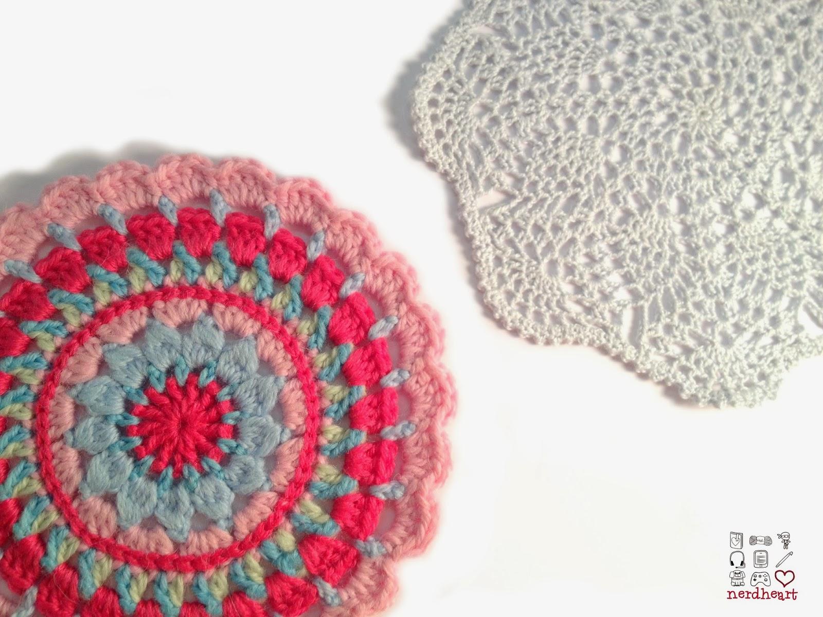 Nerdheart: Crochet Doily and Mandala