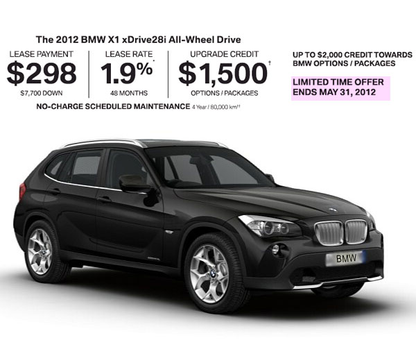 bmw ultimate upgrade event up to 2000 credit canada. Black Bedroom Furniture Sets. Home Design Ideas