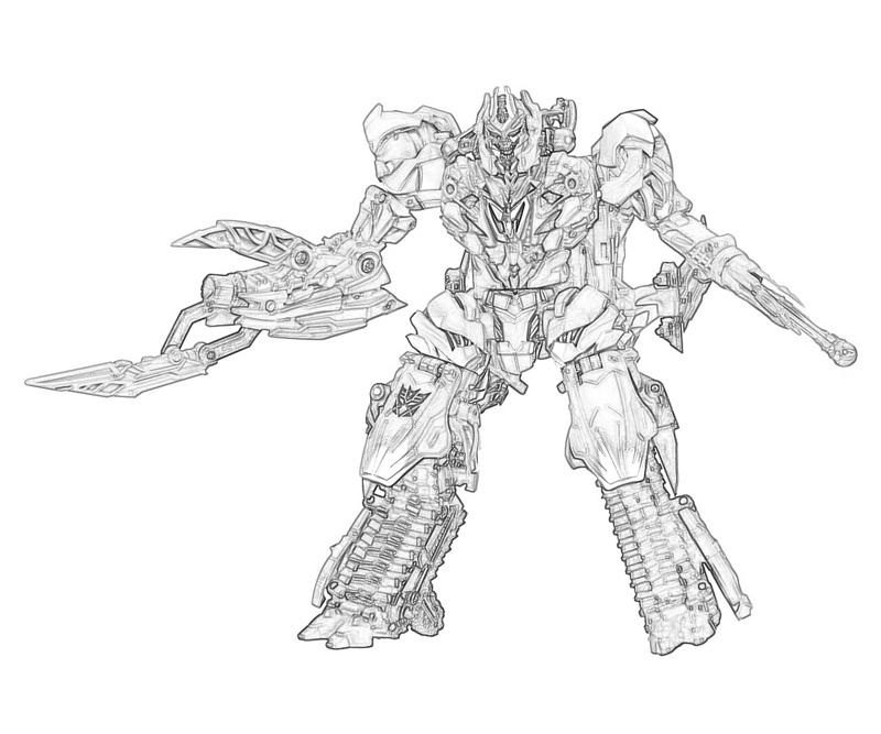 Megatron Coloring Pages Coloring Pages Megatron Coloring Pages