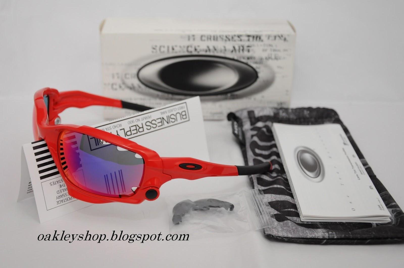 Oakley Jawbone Infrared Positive Red Iridium Vented