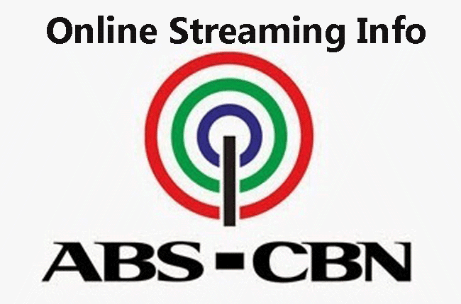 ABS-CBN Online Streaming Info