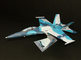FA-18 Hornet Papercraft Free Download