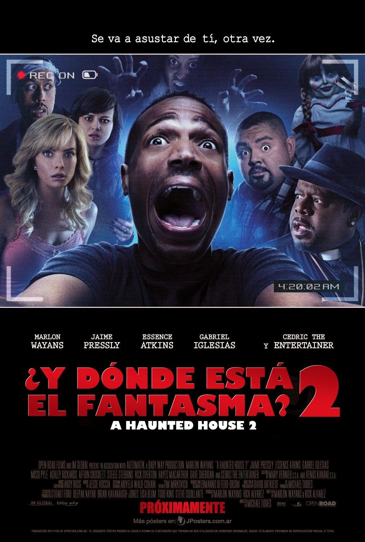 Y Donde Esta el Fantasma? 2 (2014) [Dvdrip] [Latino] [1 Link]