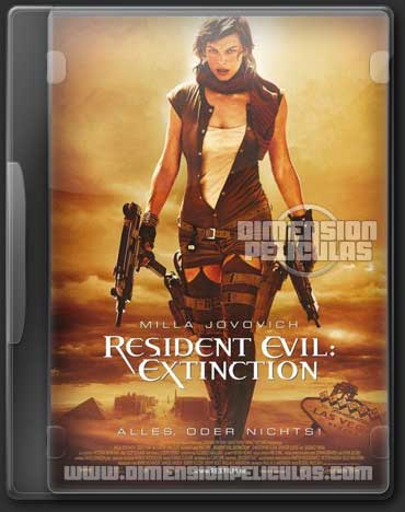 Saga Residen Evil (DVDRip Español Latino)