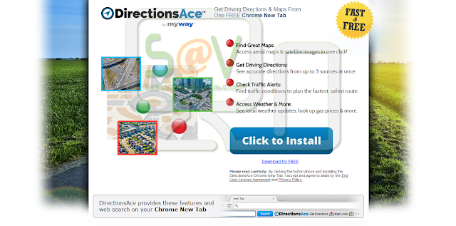 DirectionsAce Toolbar