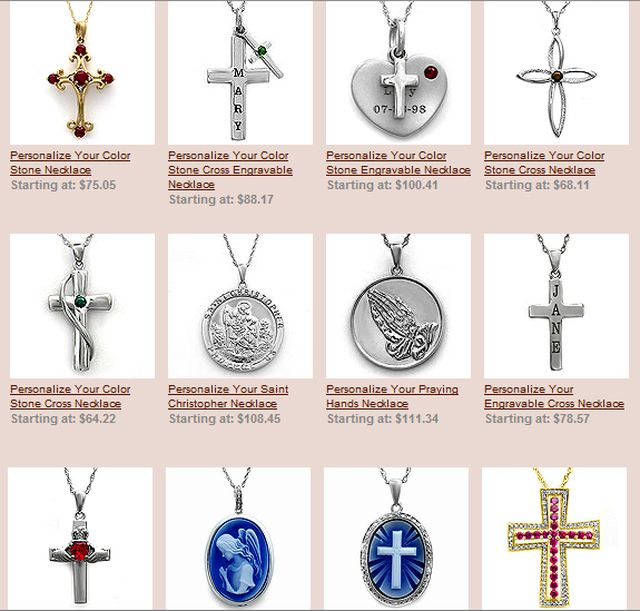 Religious Jewelry by Jared.Com
