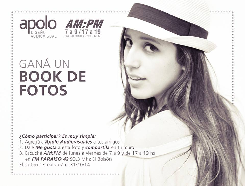 Gana un book de fotos
