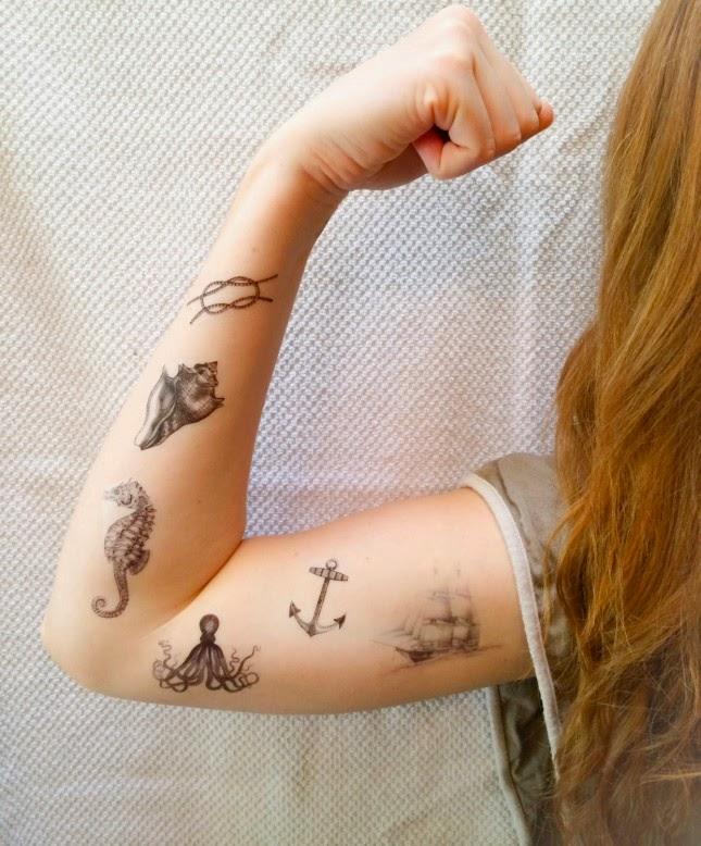 Los Mejores Tatuajes Temporales para Halloween