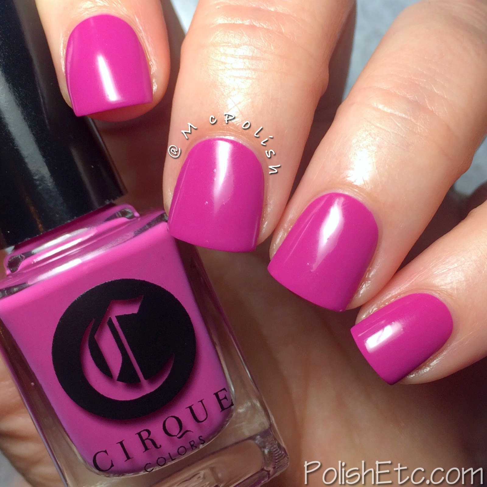 Cirque Colors April 2015 Metropolis Collection - McPolish - VIGO