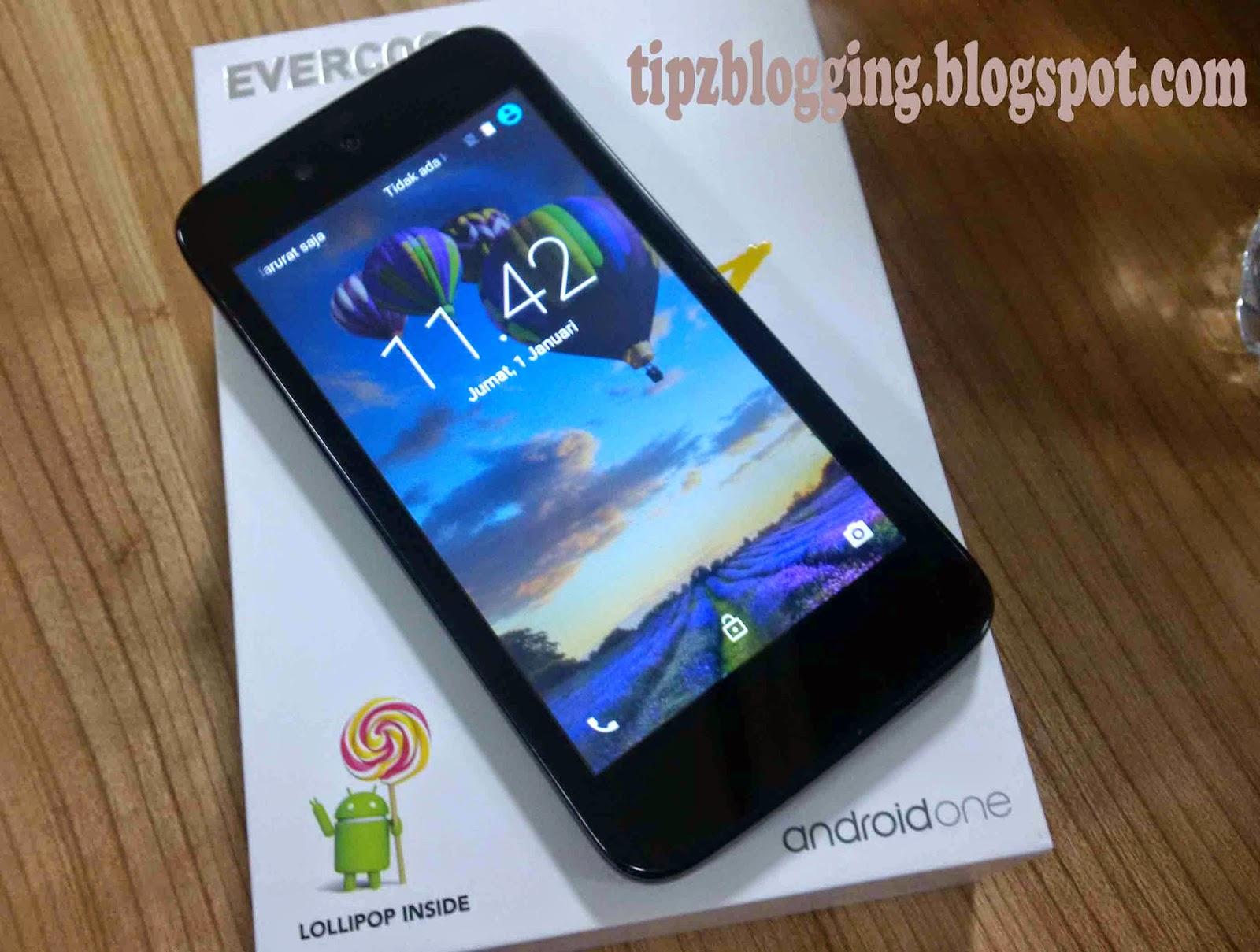 Harga HP Evercoss One X Android One Terbaru Plus Speknya