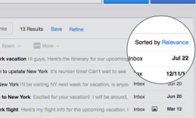 Nuevas funciones de busqueda agregadas a Yahoo Corre