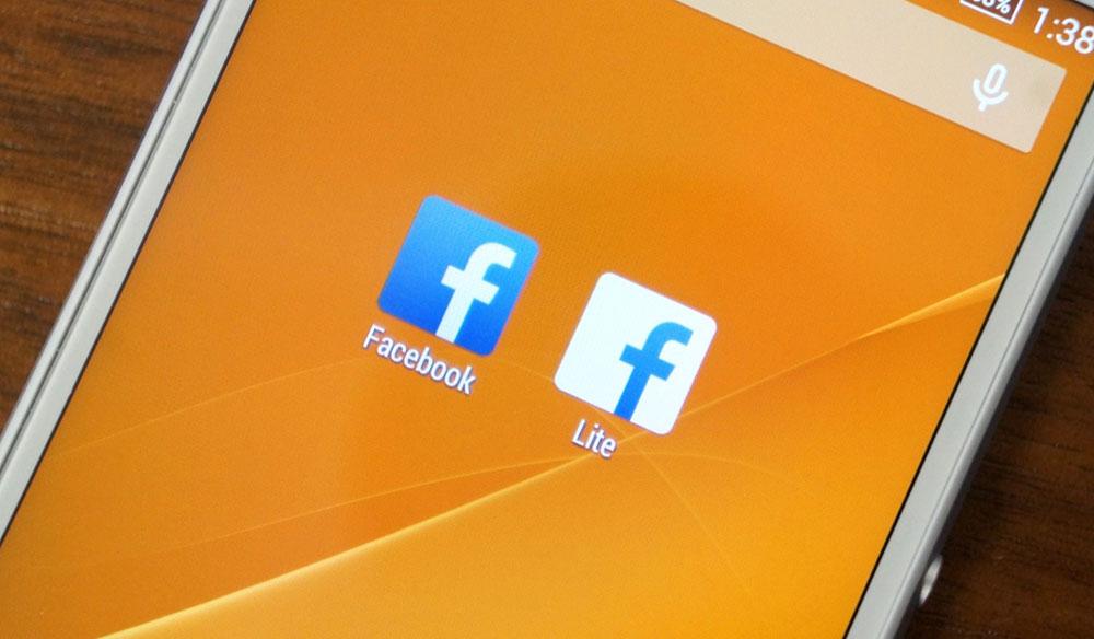 Android için Facebook Lite Uygulaması