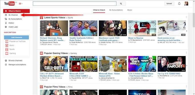 Cara Membuat Channel YouTube 2