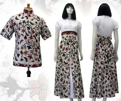 Koleksi Model Baju Batik Danar Hadi Terbaru untuk Wanita
