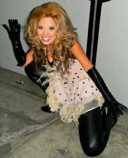 Leonor Vargas es Gloria Trevi peruana