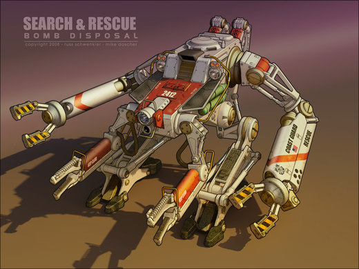 Search and Rescue Mech por dangeruss