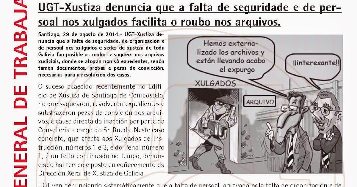 Ugt justicia galicia roban una caja fuerte y pruebas del c dice en los juzgados de santiago - Caja espana oficina virtual ...
