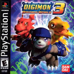 Digimon World 3   PS1 download baixar torrent