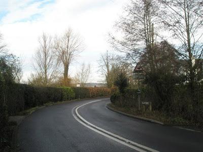 B1246 near Broadbridge