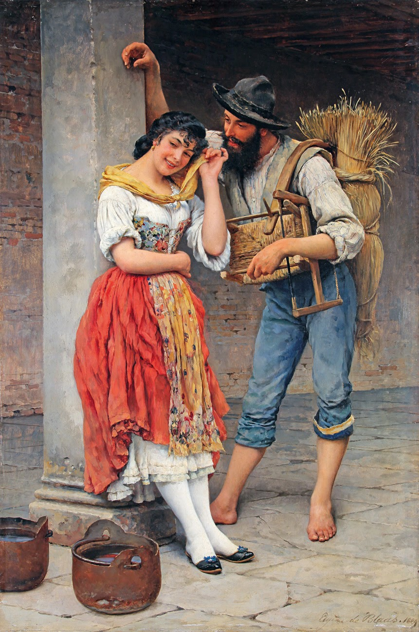 Eugene de  laas The Spider and the Fly