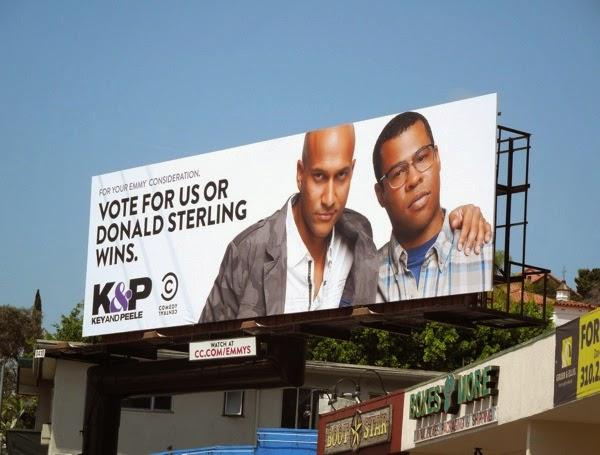 Key Peele Donald Sterling Emmy 2014 billboard