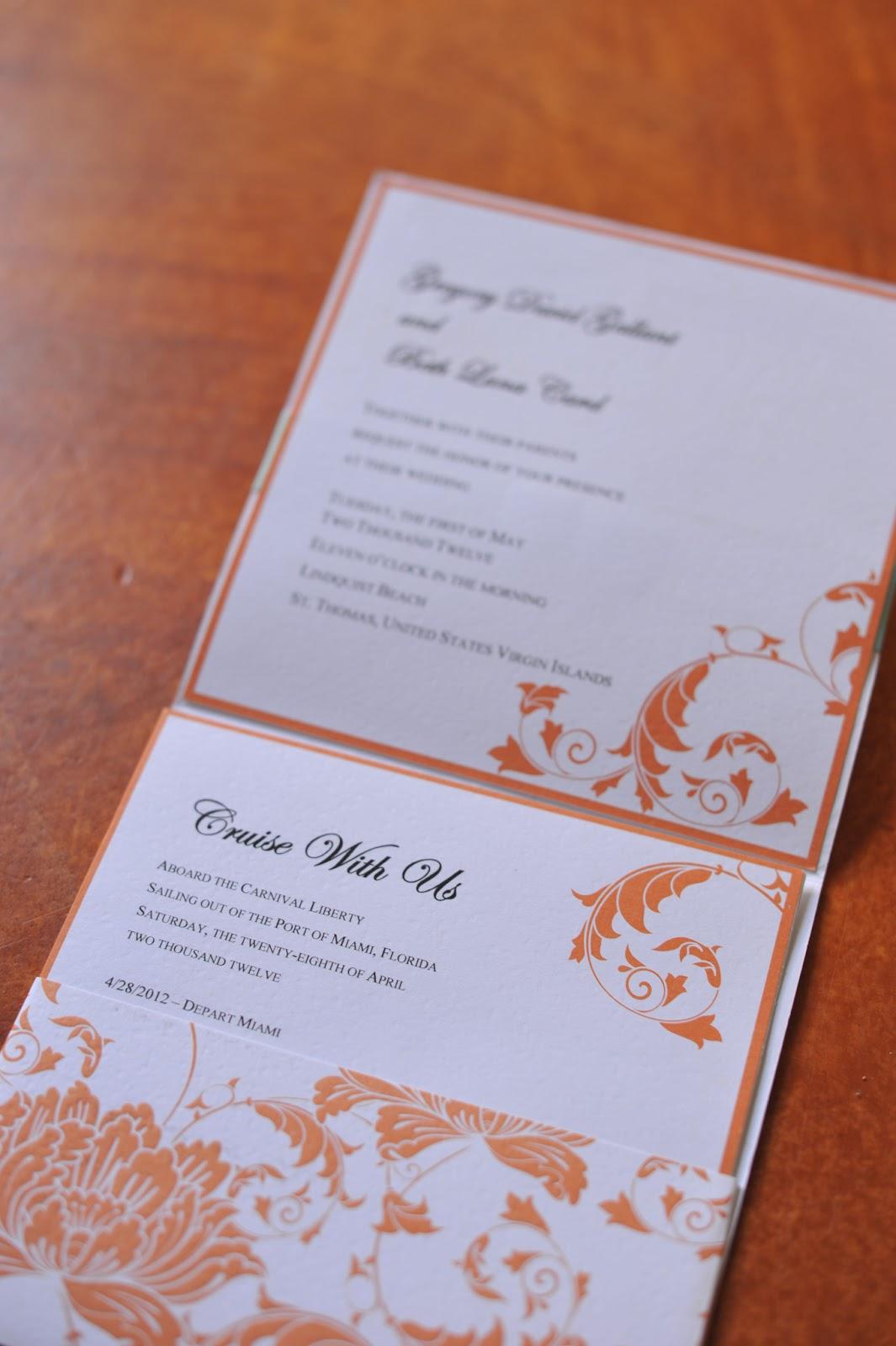 Wedding Invitations Island Bliss Weddings