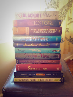 blackout the lost girl cameron post hallowed monstrous beauty shadow and bone wonder amelia anne seraphina throne of glass books
