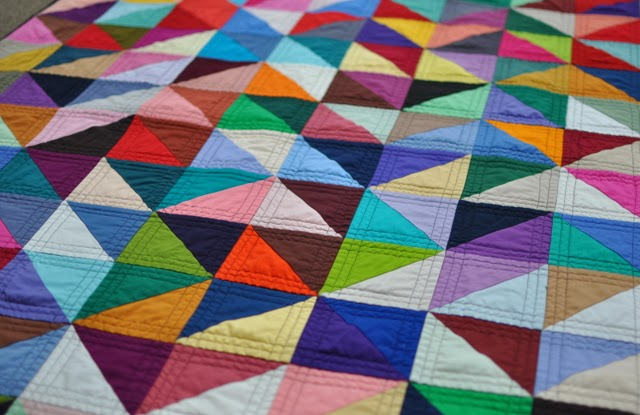 Quilting Patterns For Triangles : Threadbender s Quilt Shop : Triangles: A Million Blocks from One Block