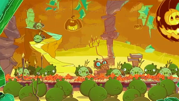 Angry Birds Seasons Ham'O'Ween Version 2.0.0