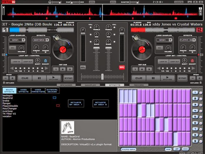 Atomix Virtual DJ Pro 7.4 with Crack Patch / Serial Key