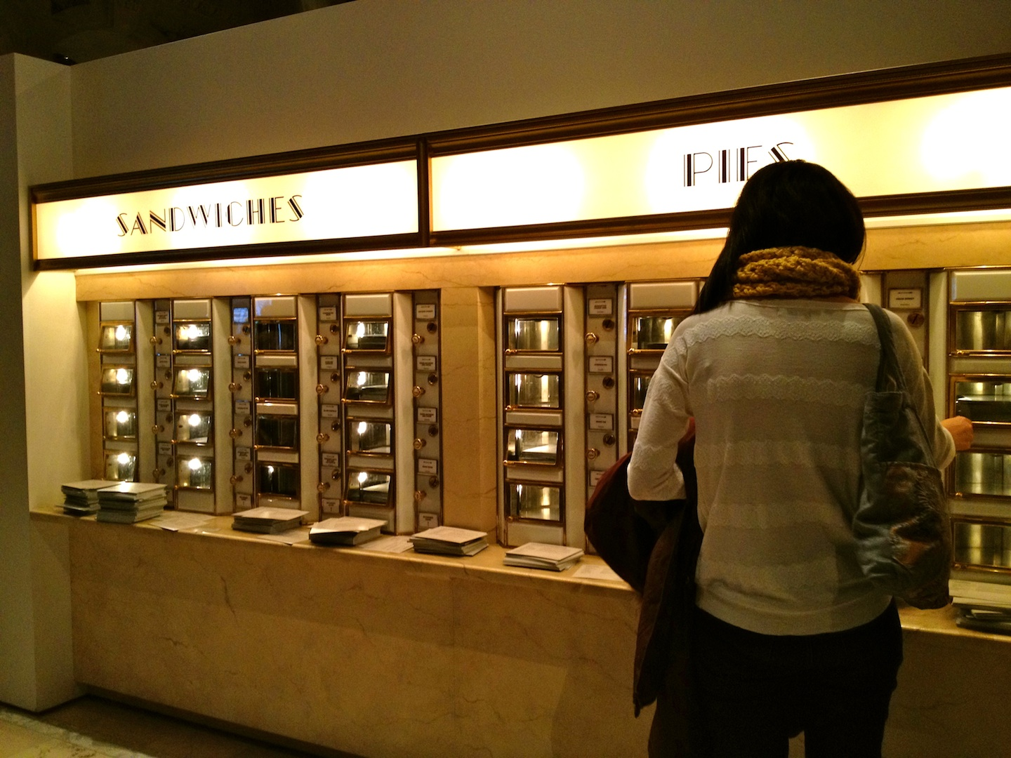 ... automat horn hardart opened their first new york city automat in