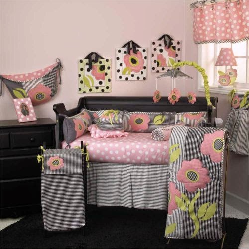 black and white crib bedding collection