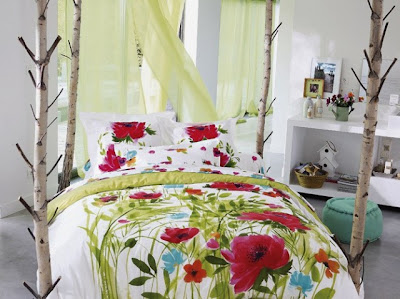Dormitorio Juvenil para las amantes de la Naturaleza