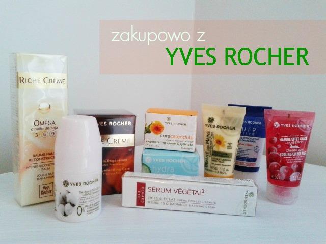 Zakupy w Yves Rocher :)