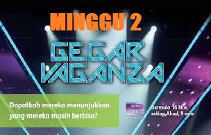 Video Konsert Gegar Vaganza Astro 2014