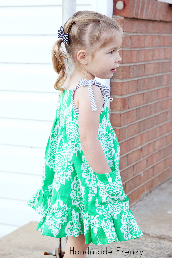 The Persimmon Sundress - A Willow & Co Pattern