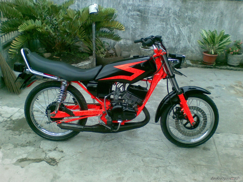 Top motor rx king cobra modif
