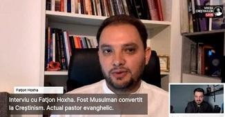 Mărturia unui fost musulman convertit la creștinism 🔴 Interviu cu Fatjon Hoxha